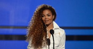Janet Jackson accepts the Ultimate Icon Award during the 2015 BET Awards in Los Angeles, California, June 28, 2015.