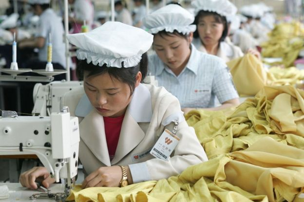 North Korea's textile exports are a significant source of income