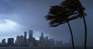 The outer bands of Irma have already reached Miami