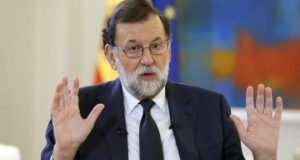 """Mariano Rajoy: """"I don't rule out absolutely anything that is within the law"""""""