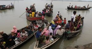 Dozens of Rohingya have already died trying to cross in boats into neighbouring Bangladesh