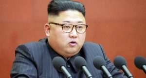The stolen documents reportedly include a plan to kill North Korean leader Kim Jong-un