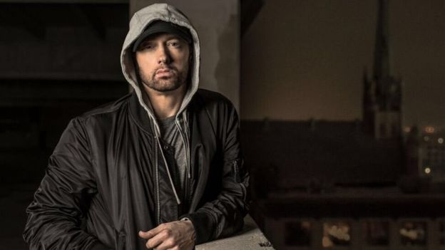 """You're going to want to tune into @BET tonight,"" said Eminem, previewing his performance"
