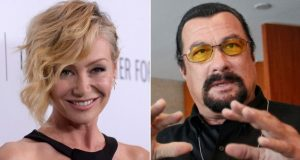 """Portia de Rossi said Steven Seagal """"unzipped his leather pants"""" during an office audition.  (Reuters)"""