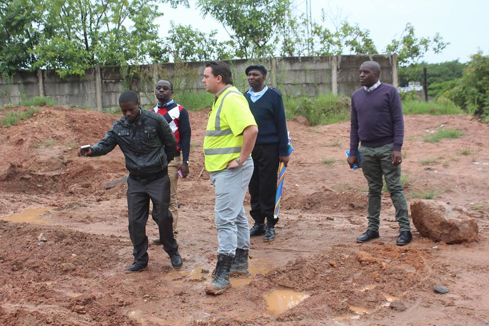 Luanshya Mayor urges contractors working on sewer project to speed up works