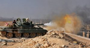 Reports say the Syrian army are clearing the last pockets of IS resistance