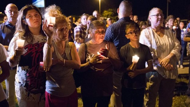 sutherland springs men Stephen willeford and johnnie langendorff hugged each other at a vigil held for the 26 killed and more than 20 wounded in the shooting at first baptist church in sutherland springs.