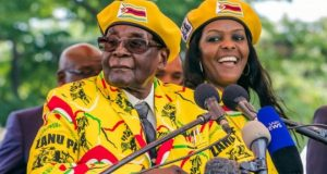 Mrs Grace Mugabe has been rumoured as a potential successor to her husband