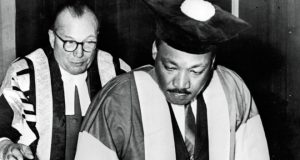 Newcastle University was the only UK institution to give Martin Luther King an honorary degree