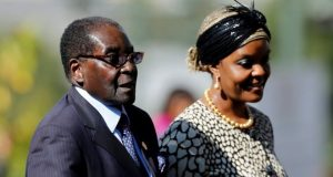 """President Mugabe's party said his wife """"has no right to run government"""""""