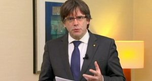 Mr Puigdemont has called for his colleagues to be released