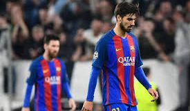 Barcelona confirm Andre Gomes injury
