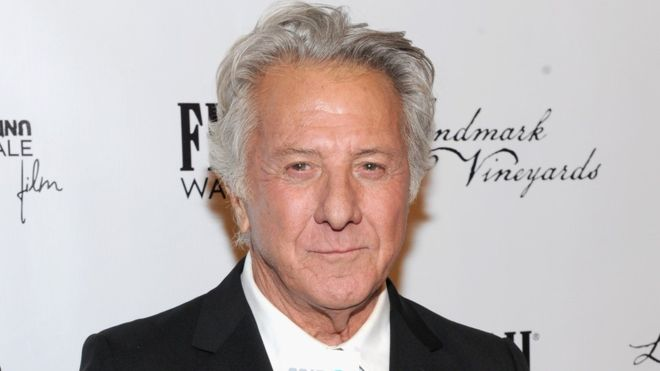 """Dustin Hoffman has said he has """"the utmost respect for women"""""""