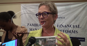 World Bank Country Manager for Zambia Ina-Marlene Ruthenberg