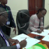 ZPPA Director General Danies Chisenda and DEC Commissioner Alita Mbahwe