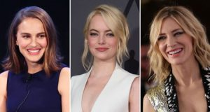 Oscar winners Natalie Portman, Emma Stone, and Cate Blanchett are among the supporters