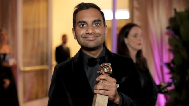 Aziz Ansari has vocally supported the movement opposing sexual assault in Hollywood