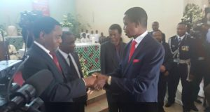 Edgar Lungu and Hakainde Hichilema