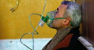 There have been recent reports of chlorine gas attacks in the eastern Ghouta region