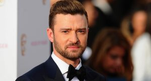 LONDON, ENGLAND - MAY 08:  Justin Timberlake attends the House Of Fraser British Academy Television Awards 2016  at the Royal Festival Hall on May 8, 2016 in London, England.  (Photo by Stuart C. Wilson/Getty Images)