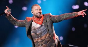 Justin Timberlake raced through 12 songs in as many minutes