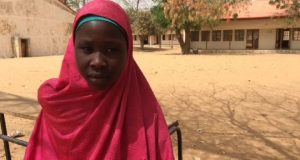 Ten days ago, Fatima was with her best friend in Dapchi, but now she doesn't know where she is