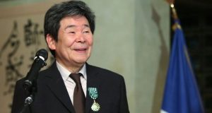 Mr Takahata was awarded France's Order of Arts and Letters in 2015