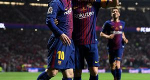 Lionel Messi and Andres Iniesta © Getty Images