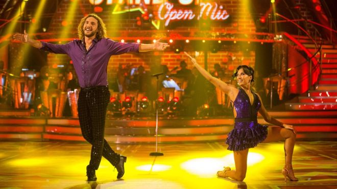 Seann Walsh and Katya Jones are dance partners on the current series of Strictly Come Dancing