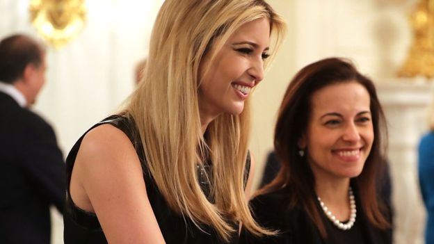 Are Dina Powell and Ivanka Trump top amongst possible Haley successors?